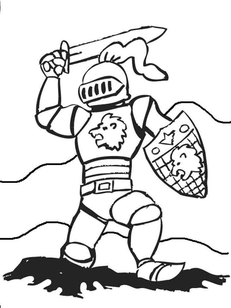 coloring page knight knights coloring pages download and print knights coloring knight page 1 1