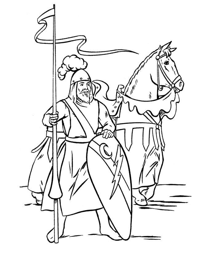 coloring page knight knights coloring pages page knight coloring