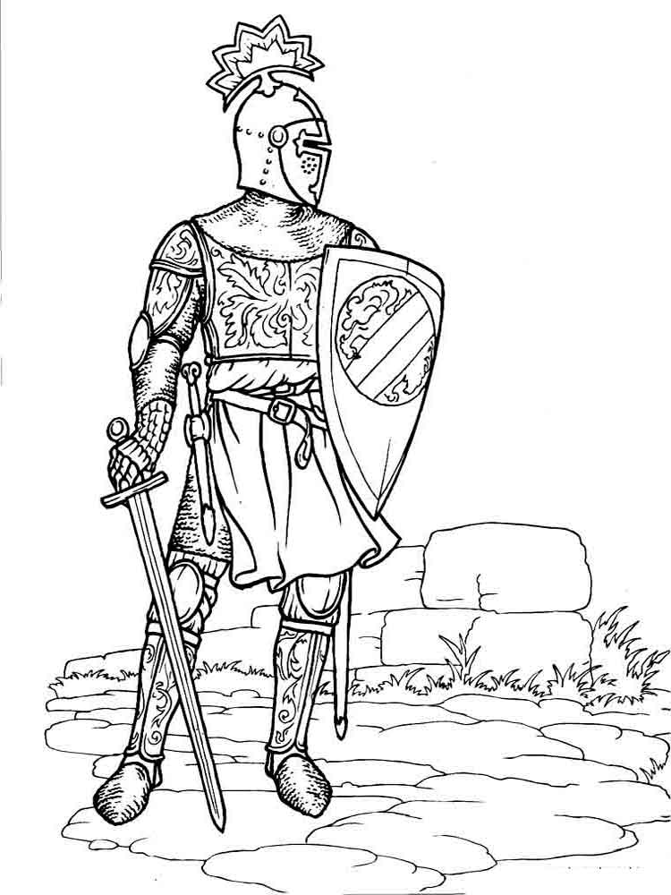 coloring page knight knights coloring pictures download and print out for free knight page coloring
