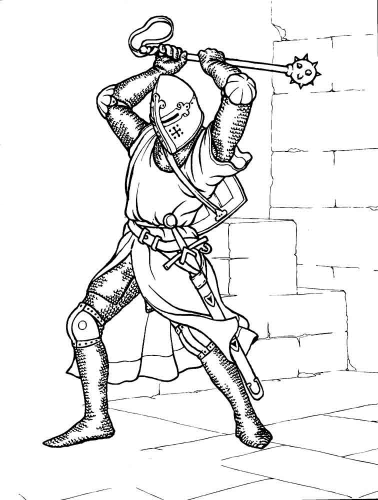 coloring page knight medieval king drawing at getdrawings free download page coloring knight