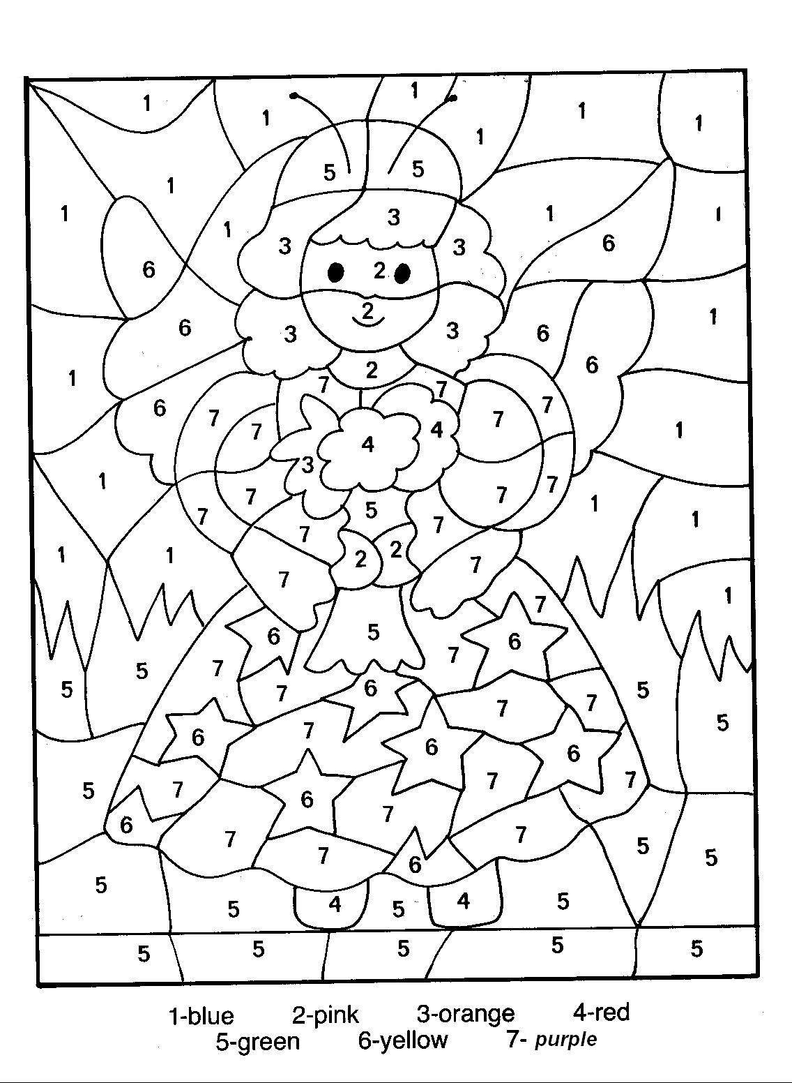 coloring page numbers color by number coloring pages to download and print for free coloring numbers page
