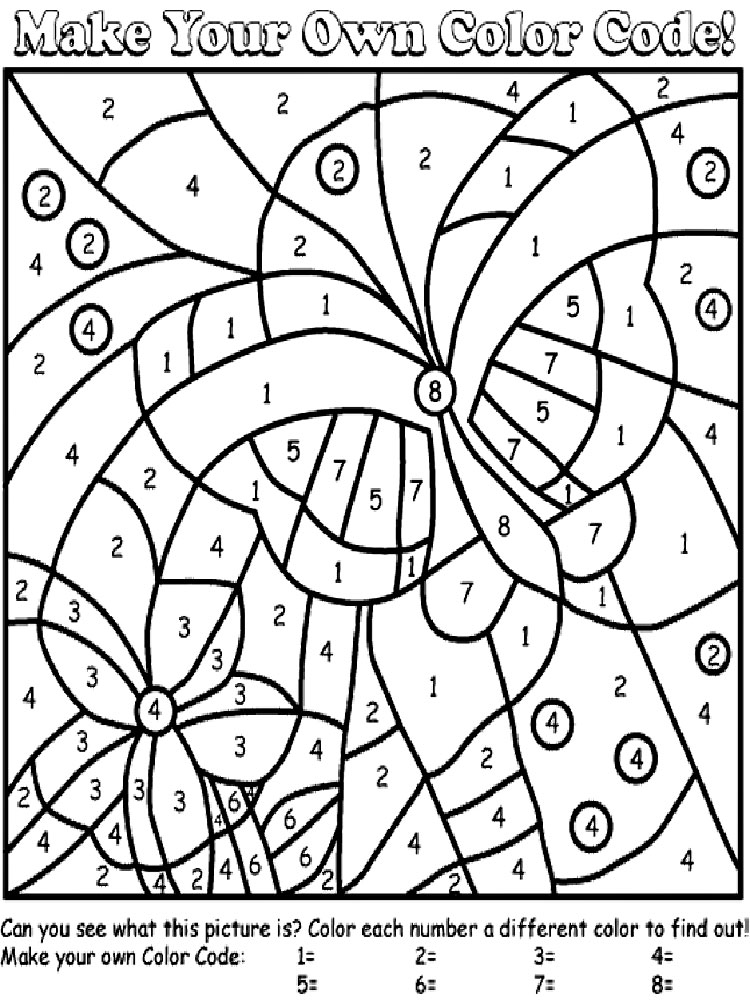 coloring page numbers color by number coloring pages to download and print for free coloring numbers page 1 1