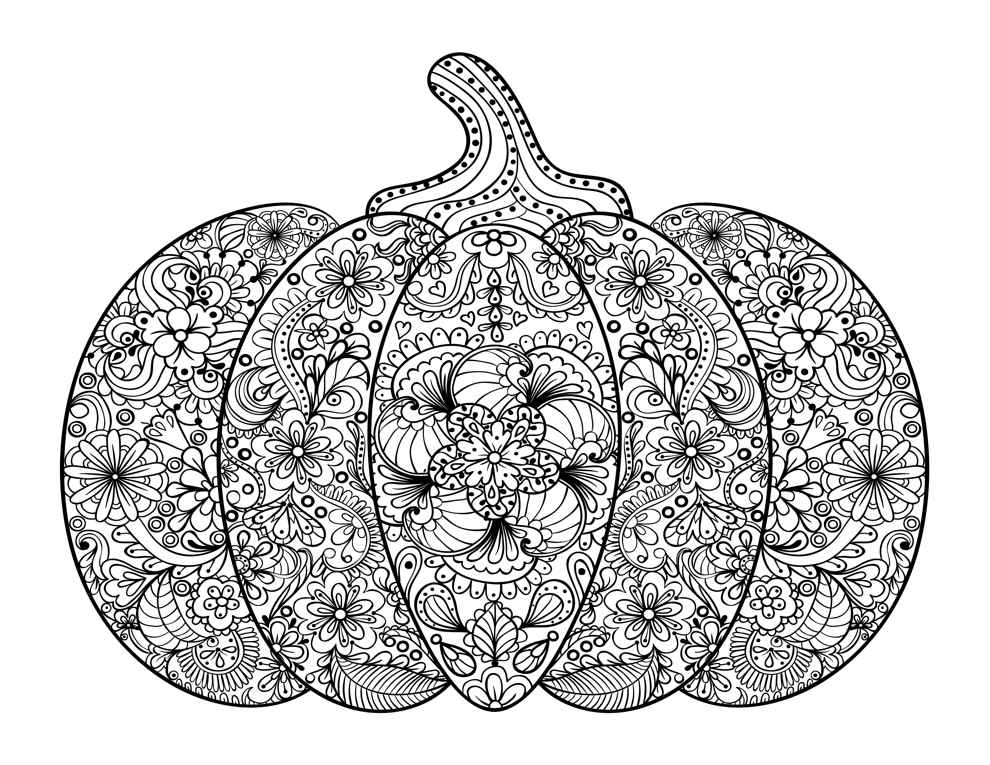 coloring page of a pumpkin free adult coloring pages pumpkin delight free pretty page of a pumpkin coloring