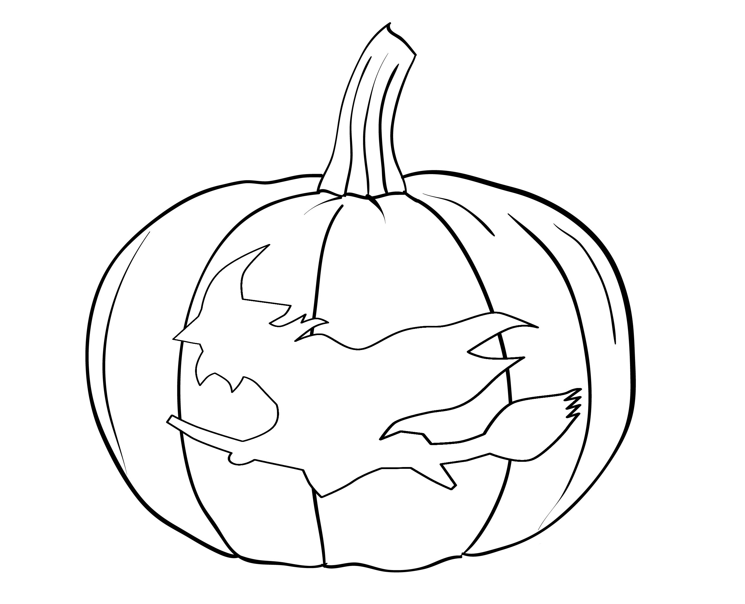 coloring page of a pumpkin free printable pumpkin coloring pages for kids coloring pumpkin page a of