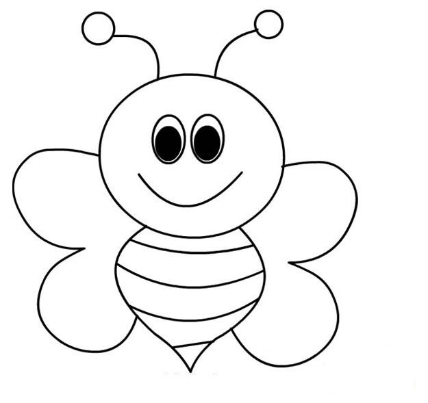 coloring page of bee bumble bees coloring page printables for kids free page of bee coloring