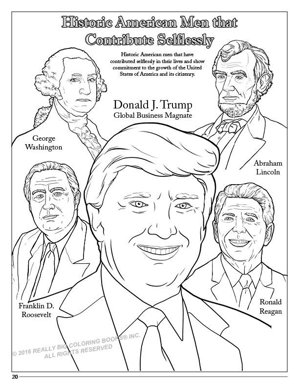 coloring page of donald trump celebrities coloring pages free printable coloring pages of page trump donald coloring