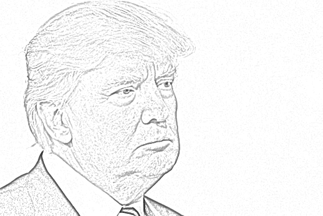 coloring page of donald trump donal trump shouting coloring page free printable coloring page donald of trump