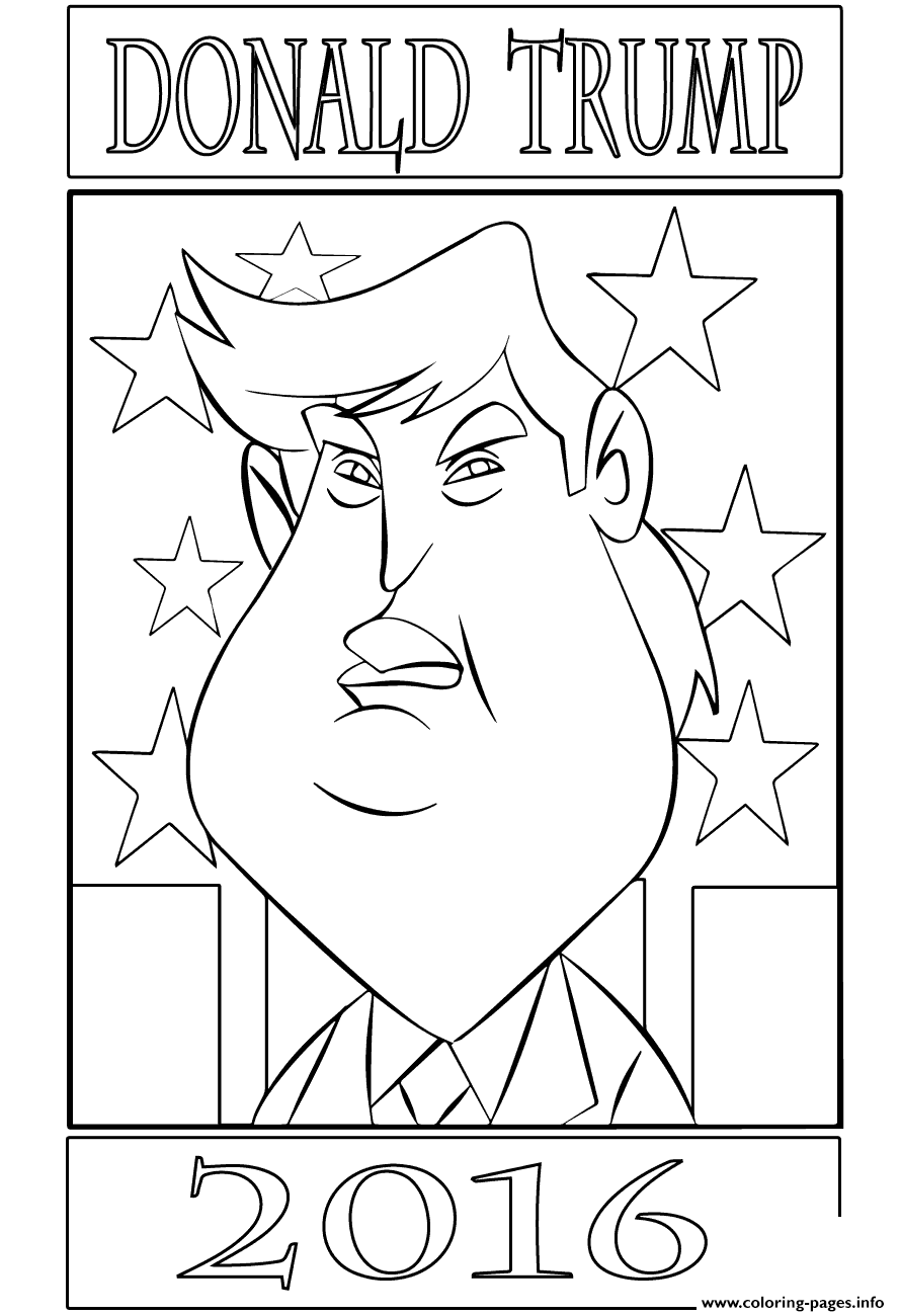 coloring page of donald trump donald trump coloring page templates at coloring trump donald of page
