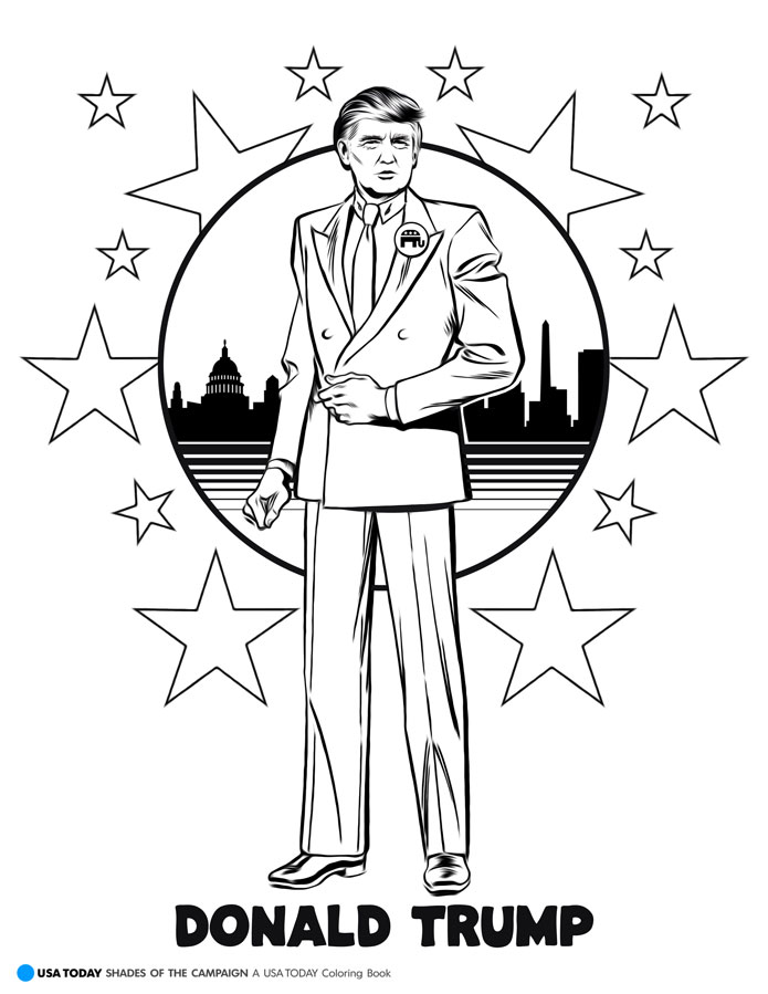 coloring page of donald trump donald trump coloring page ultra coloring pages coloring donald of page trump