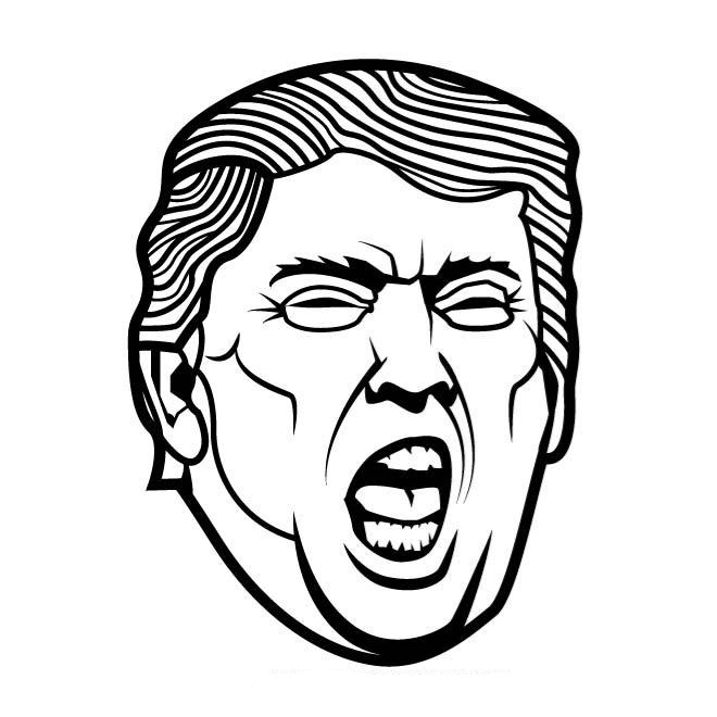coloring page of donald trump new trump coloring book lets you find the perfect crayon page trump of coloring donald