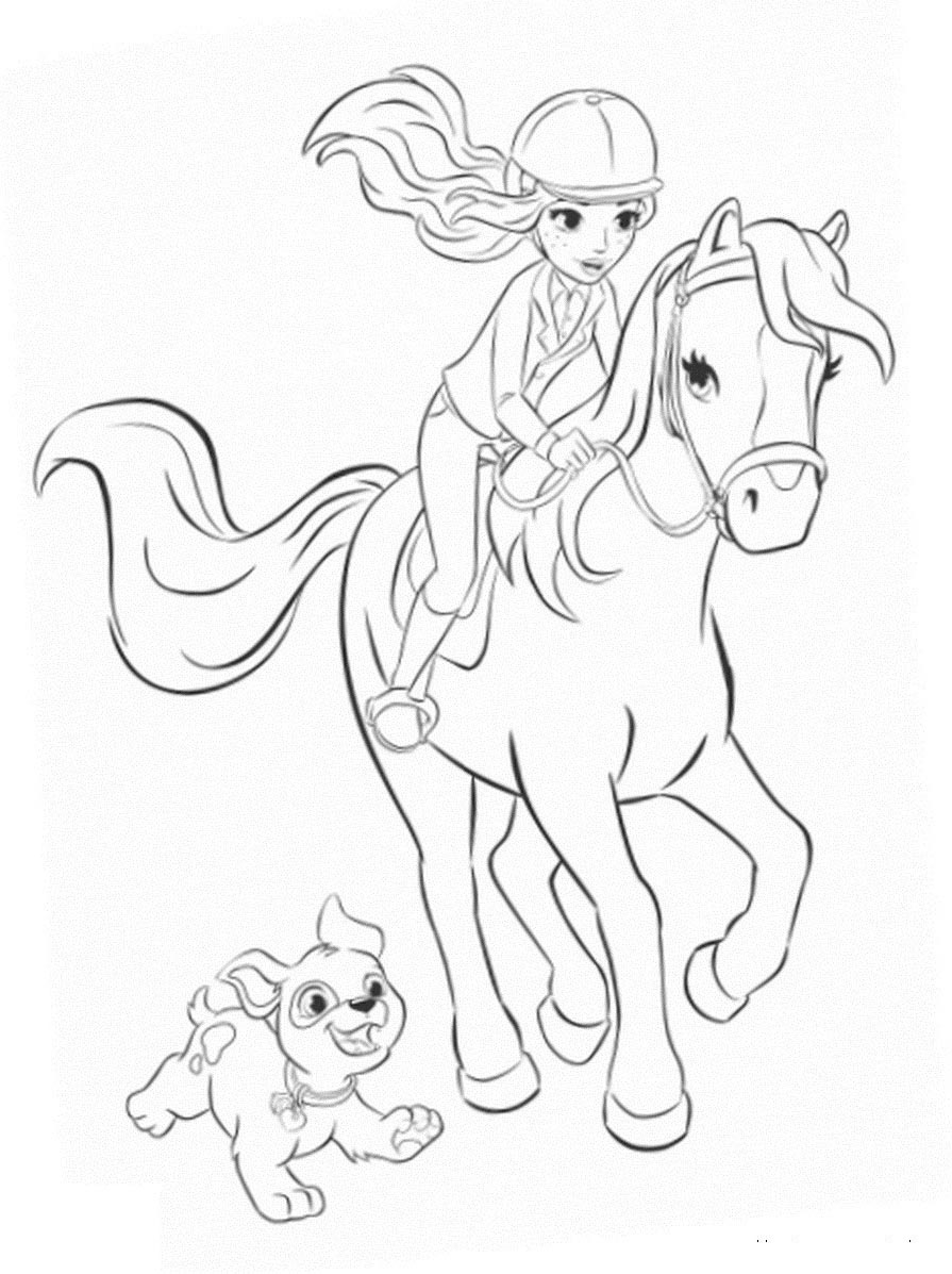 coloring page of horse 9 horse coloring pages free pdf document download horse of page coloring