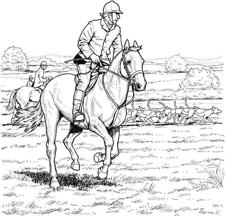 coloring page of horse coloring town horse coloring of page