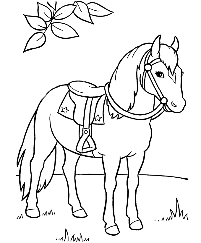 coloring page of horse free horse coloring pages of horse coloring page