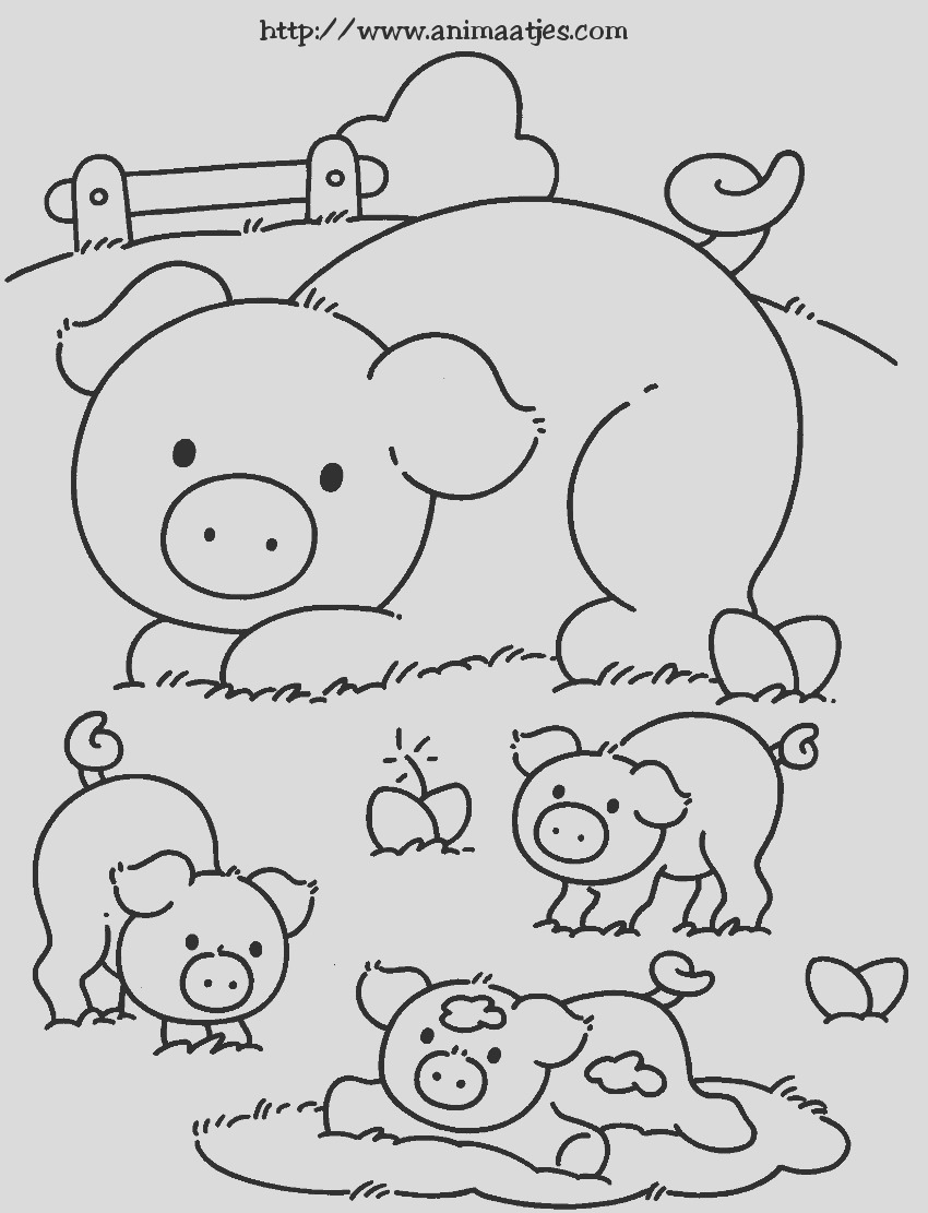 coloring page of pig adorable baby pig coloring page coloring sky of page coloring pig