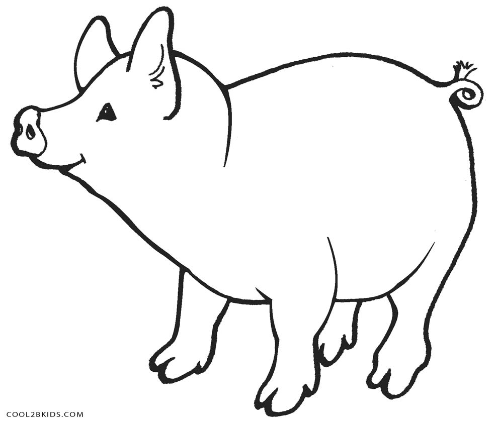 coloring page of pig pig in armour free colouring pages pig page coloring of