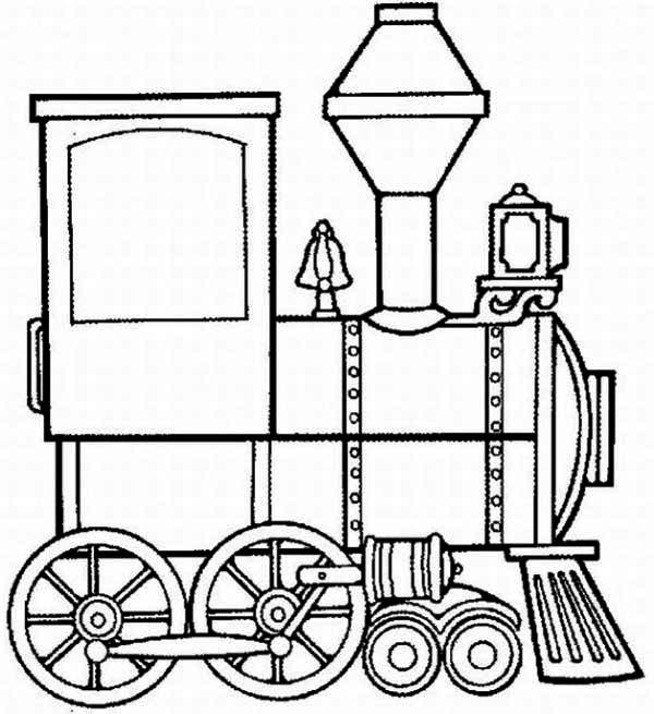 coloring page of train engine steam engine train on railroad coloring page color luna page coloring train of engine