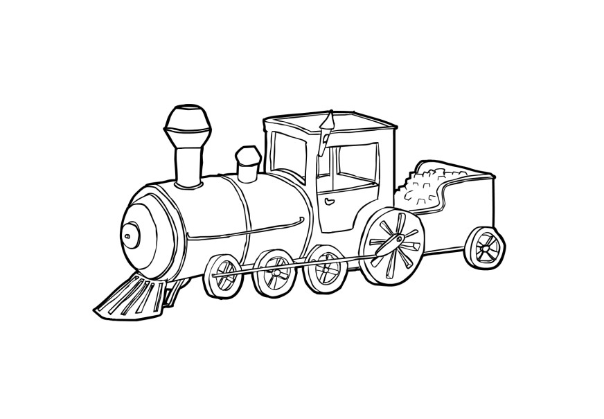 coloring page of train engine steel wheels train coloring sheet yescoloring free of engine train page coloring