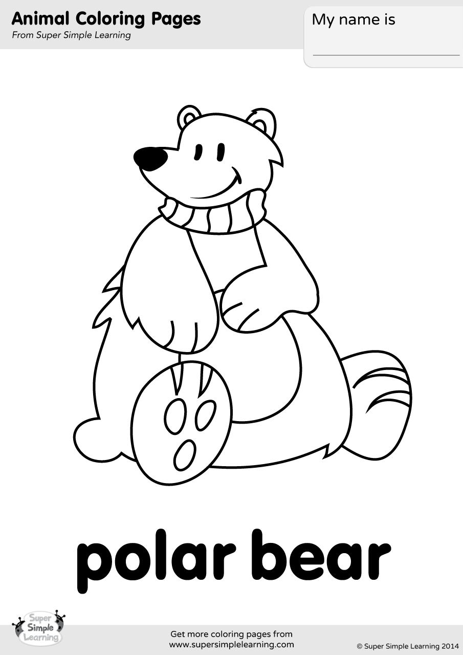 coloring page polar bear polar bear coloring pages coloring pages to download and bear coloring page polar