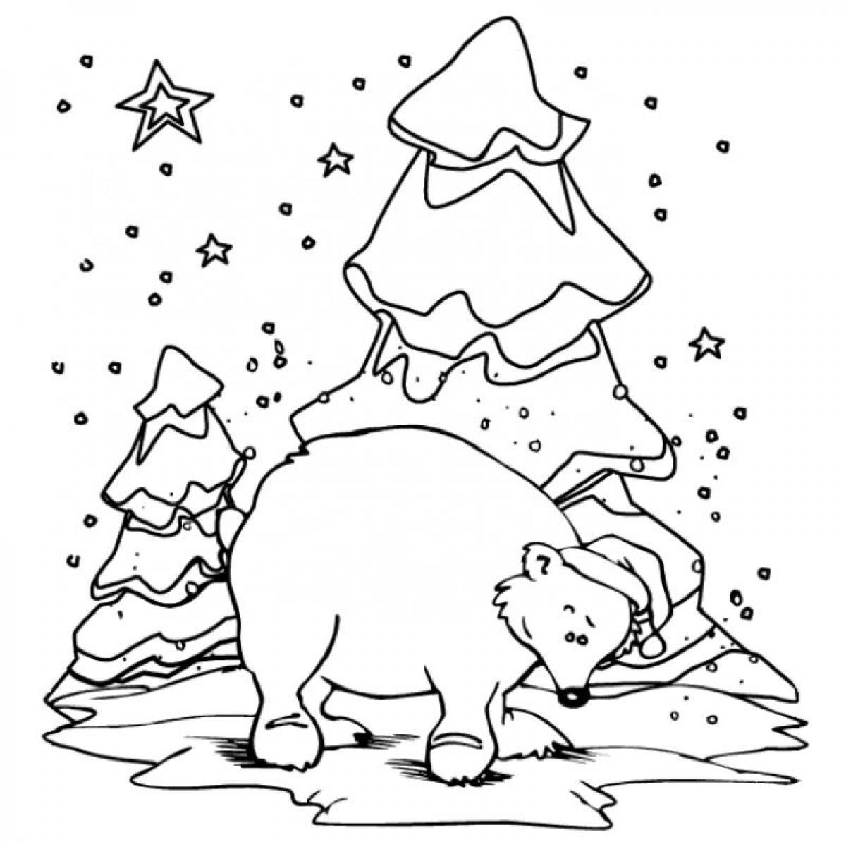 coloring page polar bear printable polar bear coloring page free pdf download at bear coloring page polar