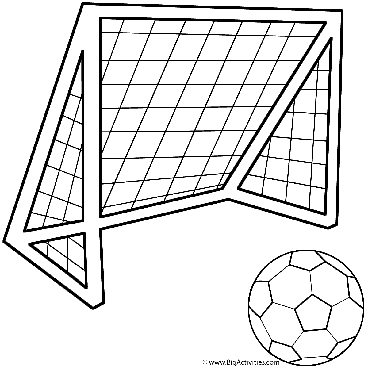coloring page soccer a group of kids playing soccer in the school yard coloring coloring soccer page