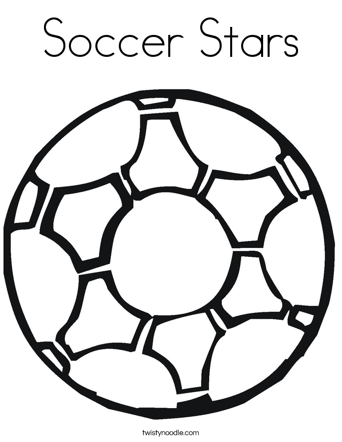coloring page soccer soccer ball colouring clipart best soccer page coloring