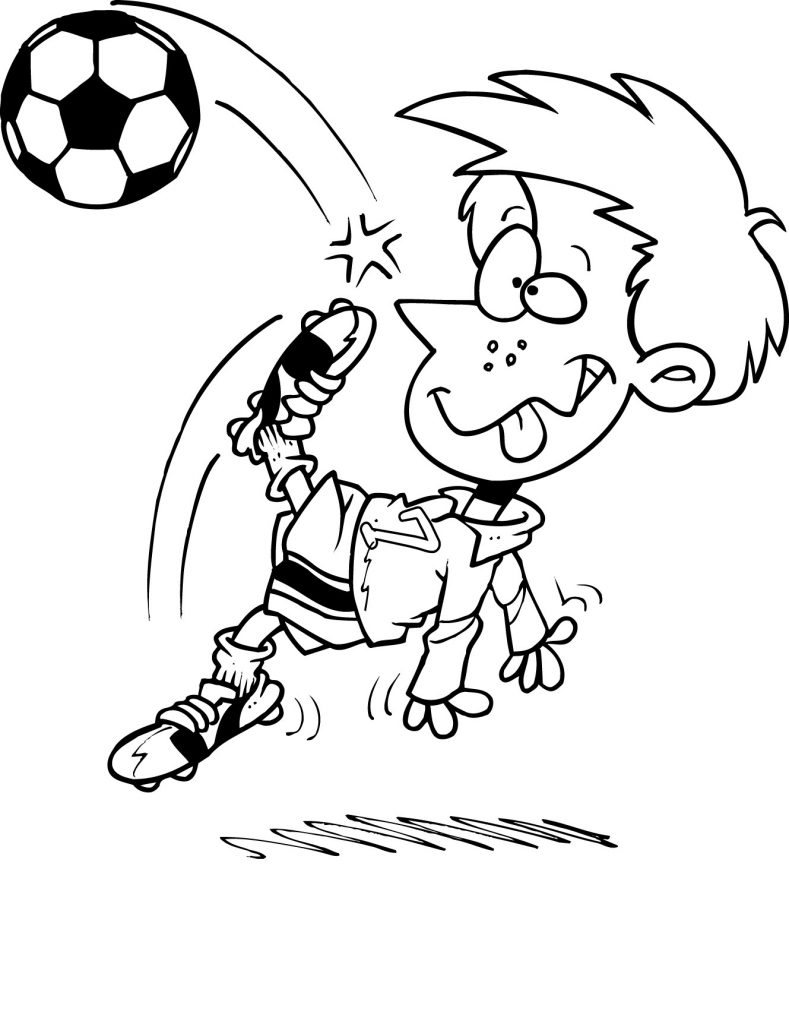 coloring page soccer soccer coloring pages coloring soccer page