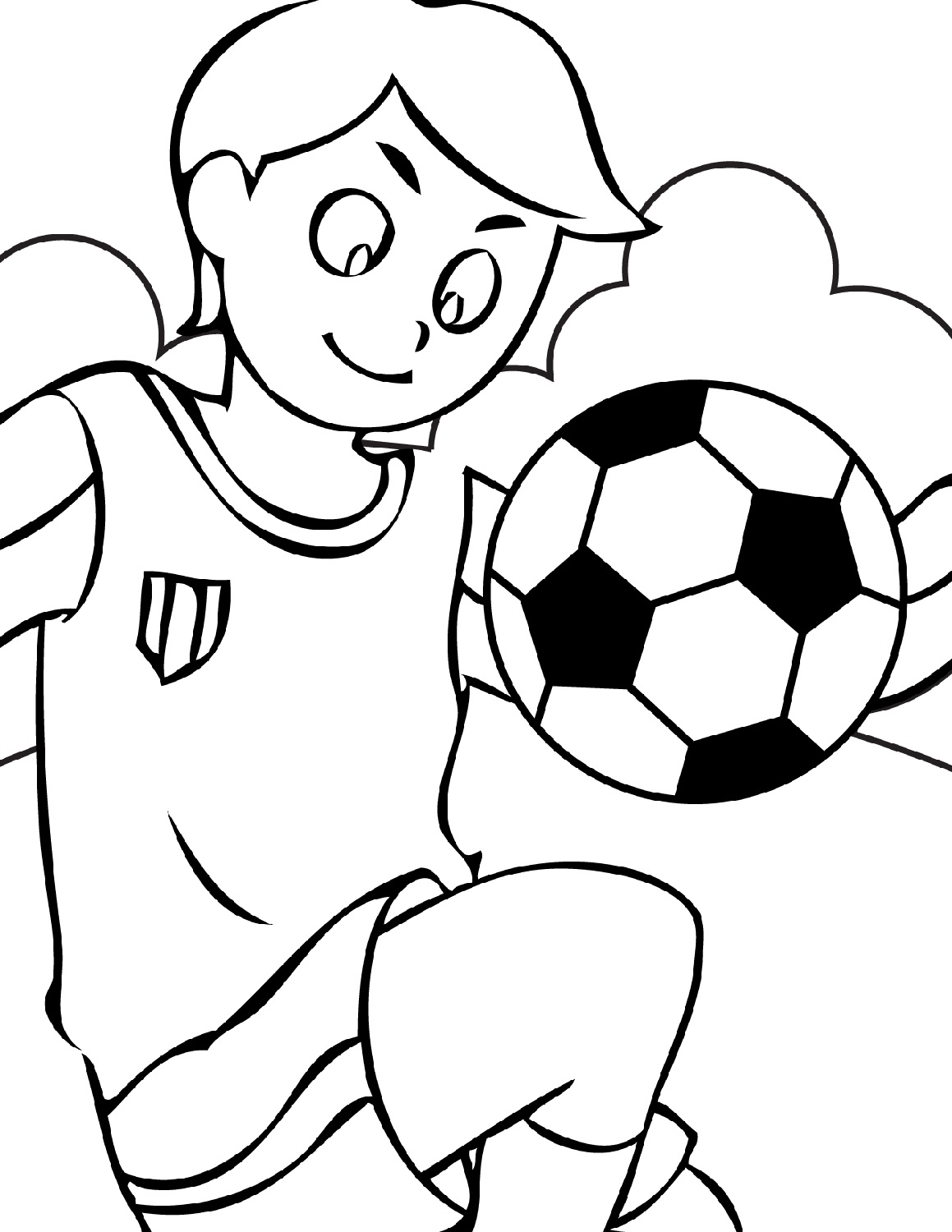 coloring page soccer soccer coloring pages kidsuki coloring soccer page