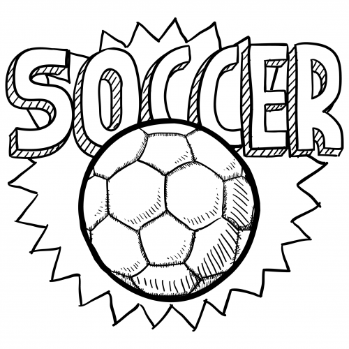coloring page soccer soccer player coloring pages coloring soccer page