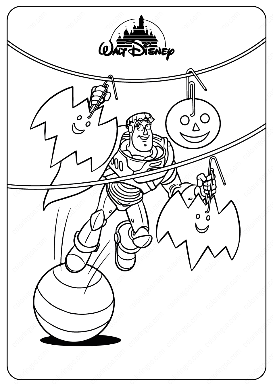 coloring page toy story disney toy story buzz halloween coloring pages page coloring toy story