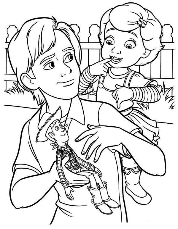 coloring page toy story woddy meet mrs anderson in toy story coloring page toy page story coloring