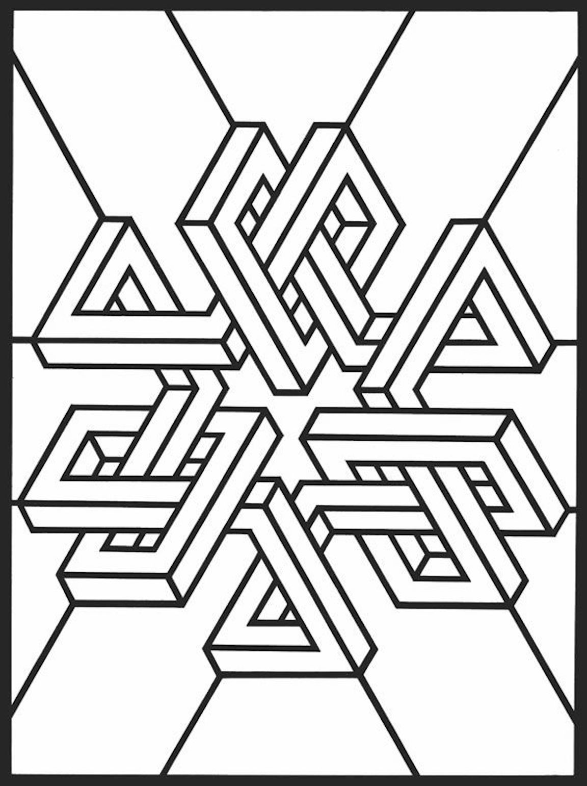 coloring pages 3d 3d coloring pages printable coloring home pages coloring 3d