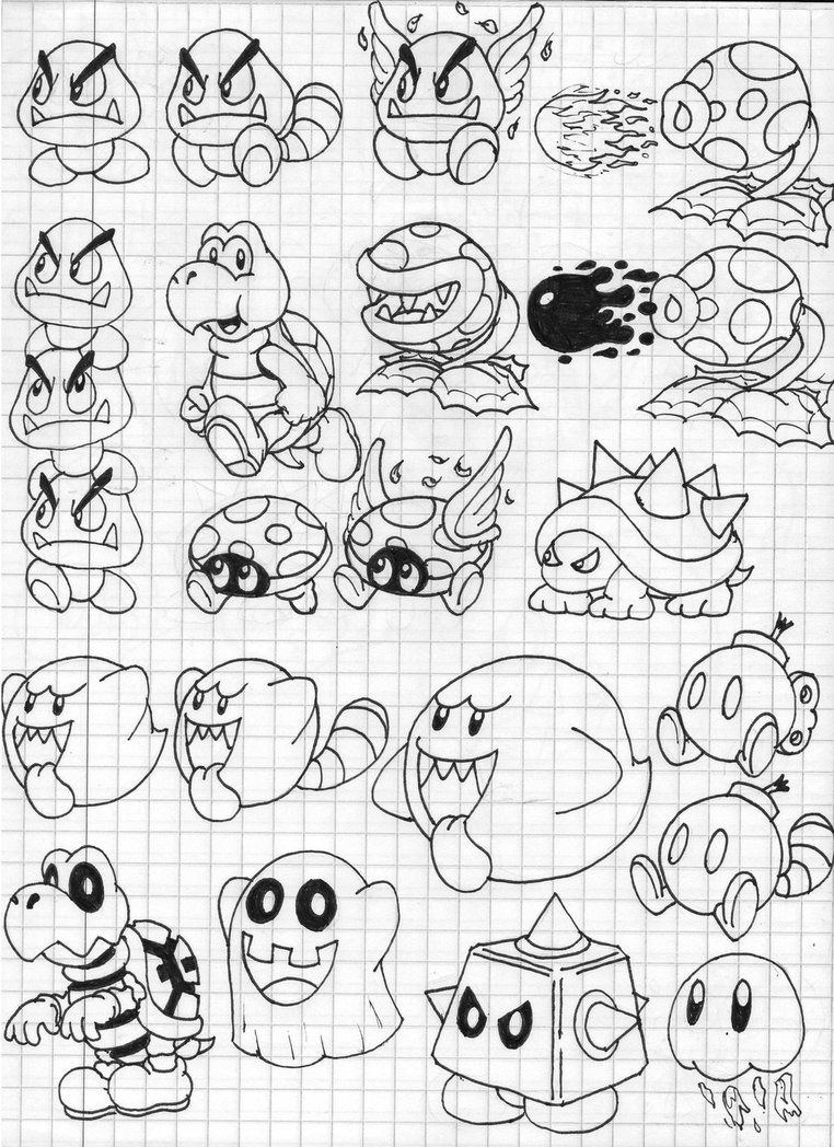 coloring pages 3d mario 3d world coloring pages at getcoloringscom free coloring 3d pages 1 1