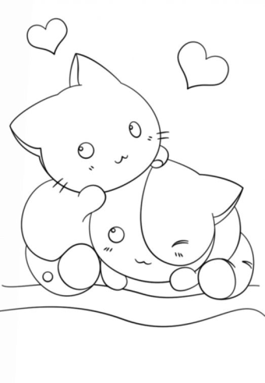 coloring pages anime animals manga animals drawing at getdrawings free download anime coloring animals pages