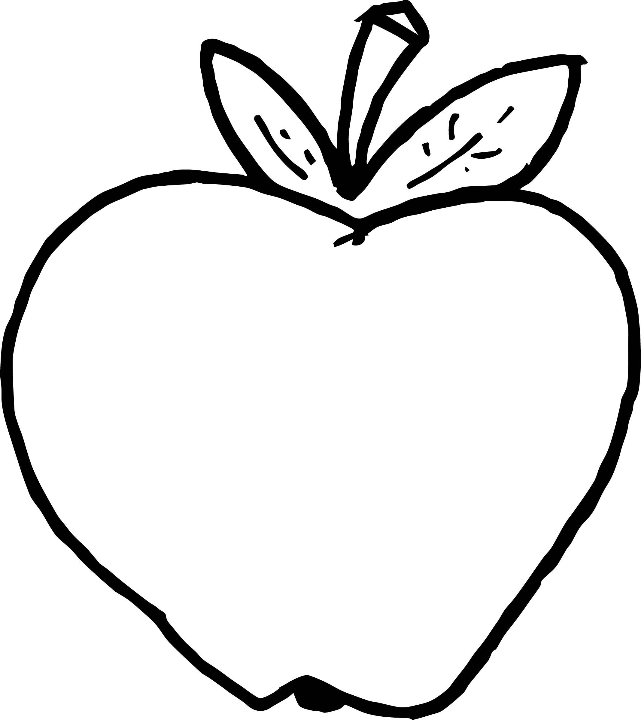 coloring pages apple coloring page of apple coloring home coloring apple pages