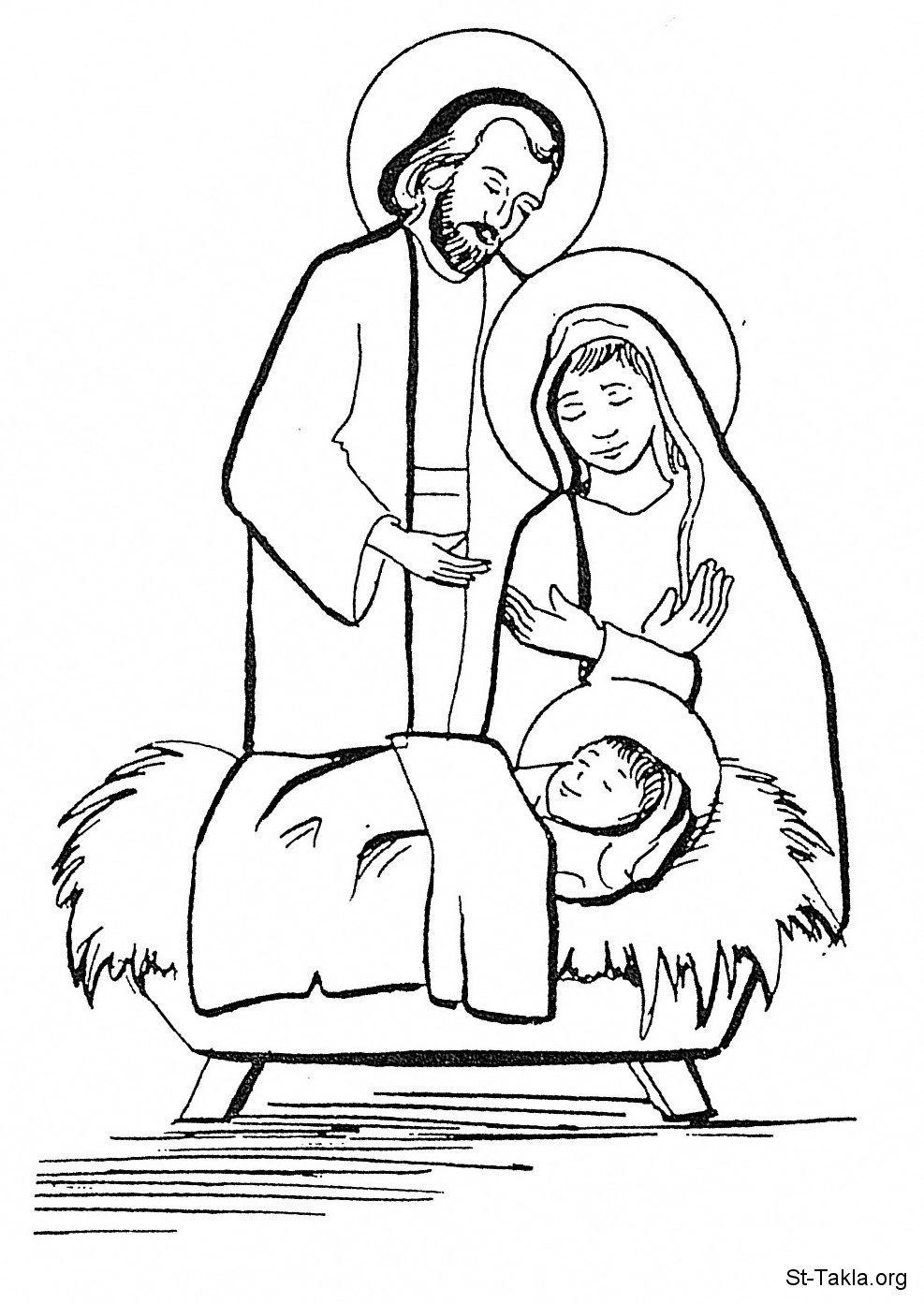coloring pages baby jesus in manger baby jesus in a manger image printable coloring page in baby pages coloring jesus manger