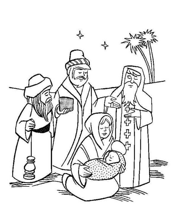 coloring pages baby jesus in manger baby jesus sleep peacefully in a manger coloring page in jesus coloring baby pages manger