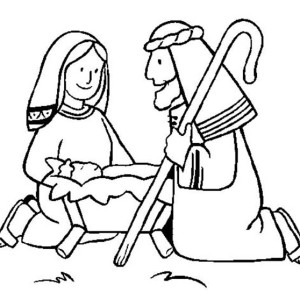 coloring pages baby jesus in manger free printable nativity coloring pages for kids best coloring in jesus manger pages baby