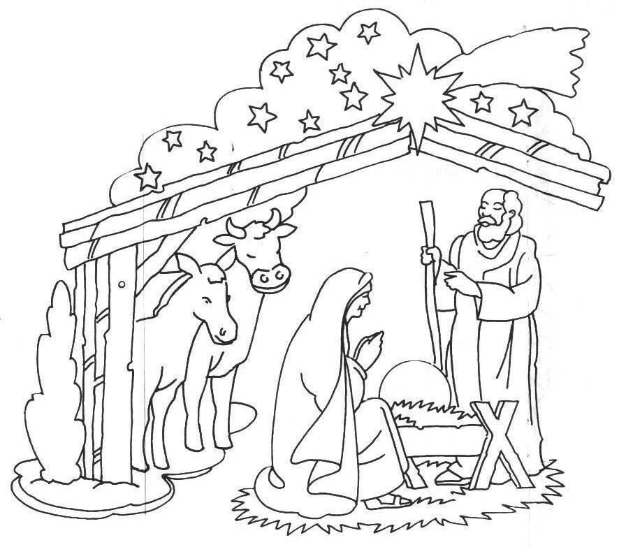 coloring pages baby jesus in manger jesus coloring pages free download on clipartmag baby in jesus manger pages coloring