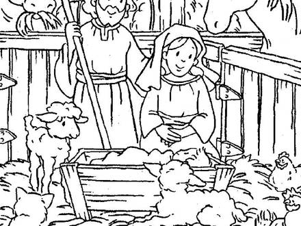 coloring pages baby jesus in manger jesus in a manger coloring page at getcoloringscom free baby pages coloring manger jesus in