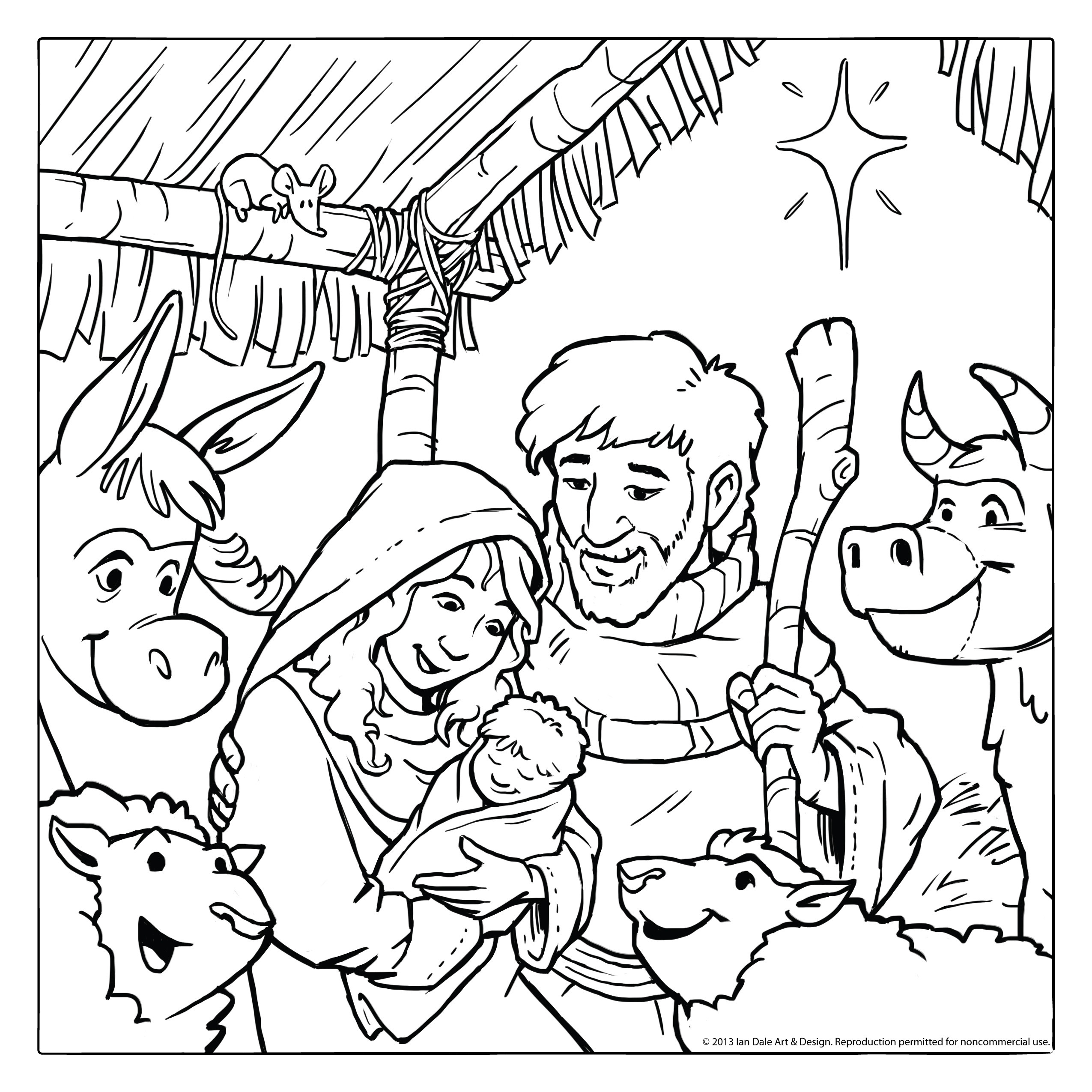 coloring pages baby jesus in manger scenery of nativity in jesus christ coloring page color luna baby in manger coloring pages jesus
