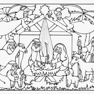 coloring pages baby jesus in manger xmas coloring pages baby jesus coloring in manger pages