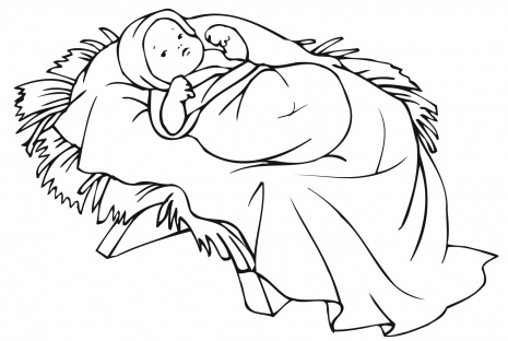 coloring pages baby jesus in manger xmas coloring pages jesus manger in baby coloring pages