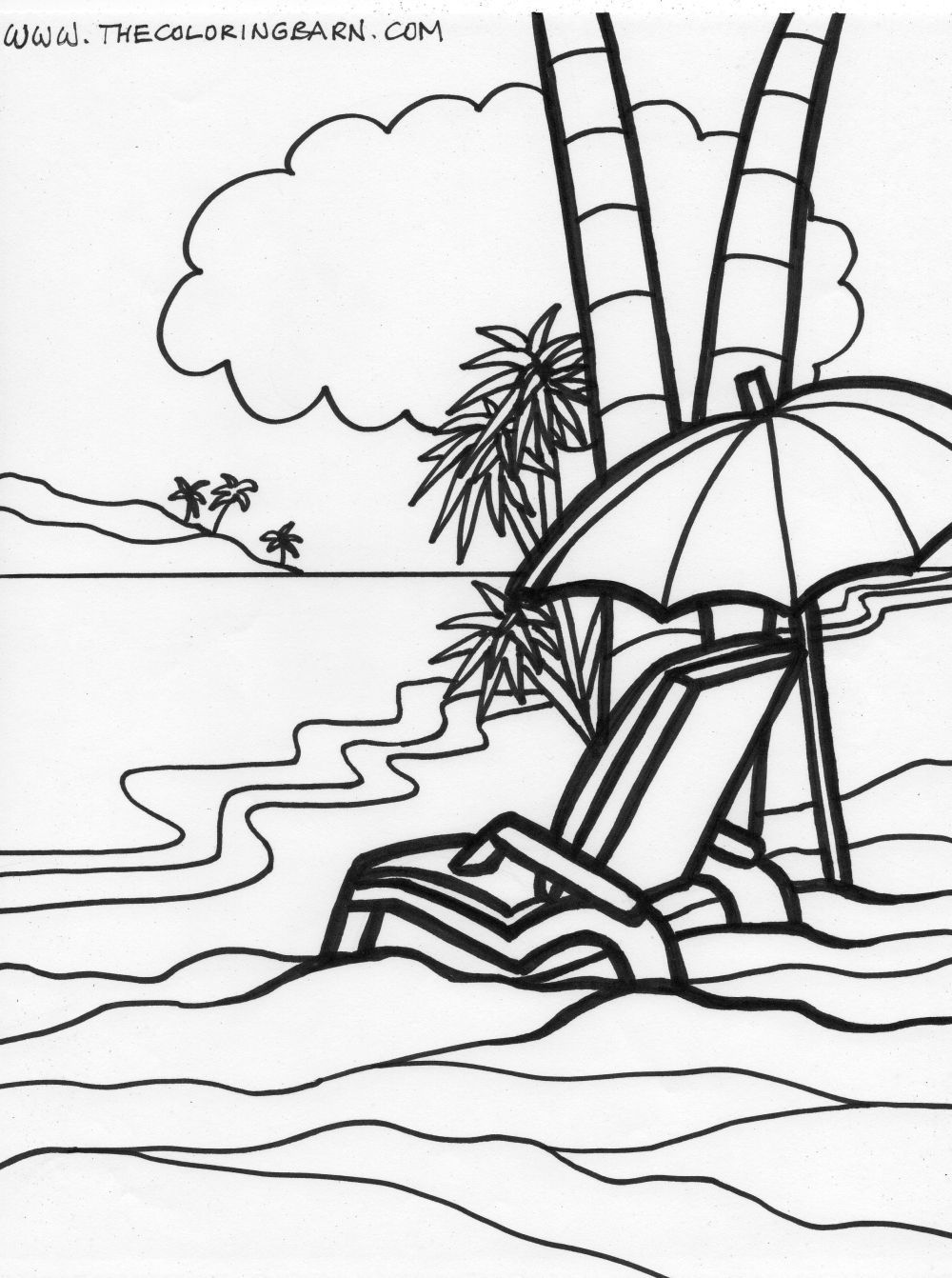 coloring pages beach scenes 25 free printable beach coloring pages scribblefun beach scenes coloring pages