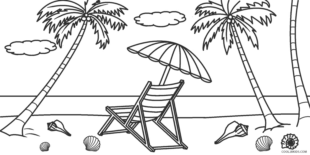 coloring pages beach scenes beach coloring pages beach scenes activities coloring pages scenes beach
