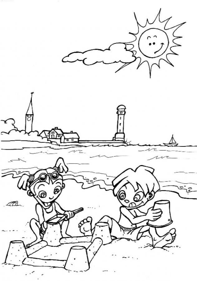 coloring pages beach scenes beach scene coloring pages coloring home coloring scenes beach pages