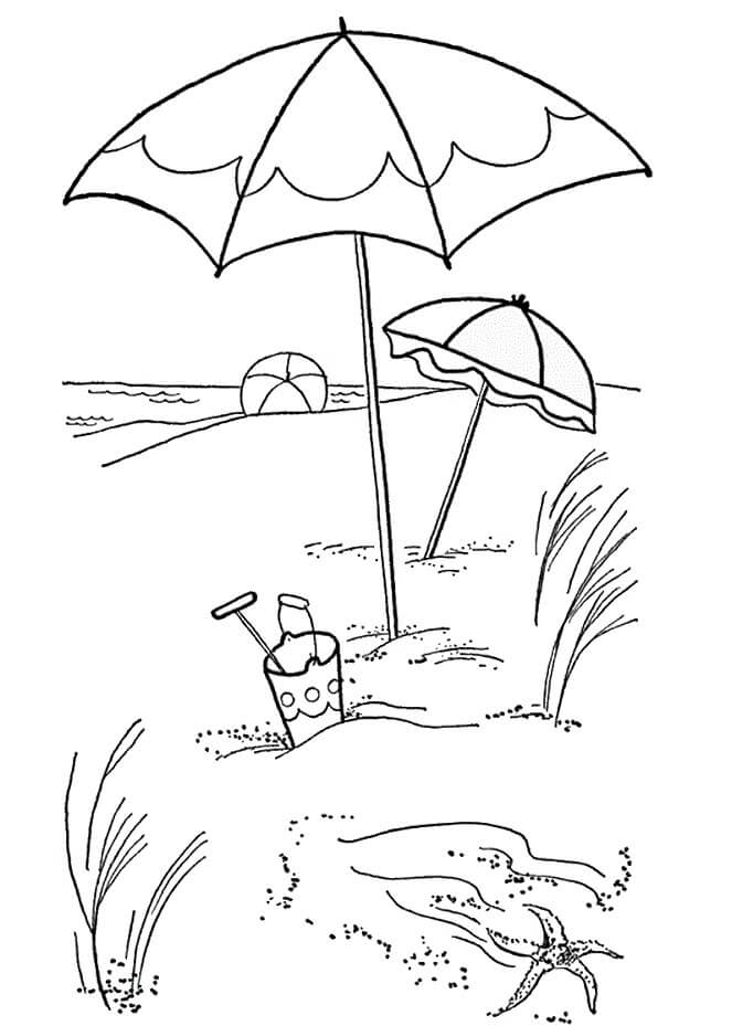 coloring pages beach scenes season and weather coloring pages momjunction coloring pages scenes beach