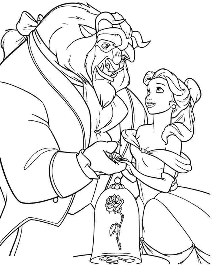 coloring pages beauty and the beast beauty and the beast belle coloring pages download kids pages coloring the and beast beauty
