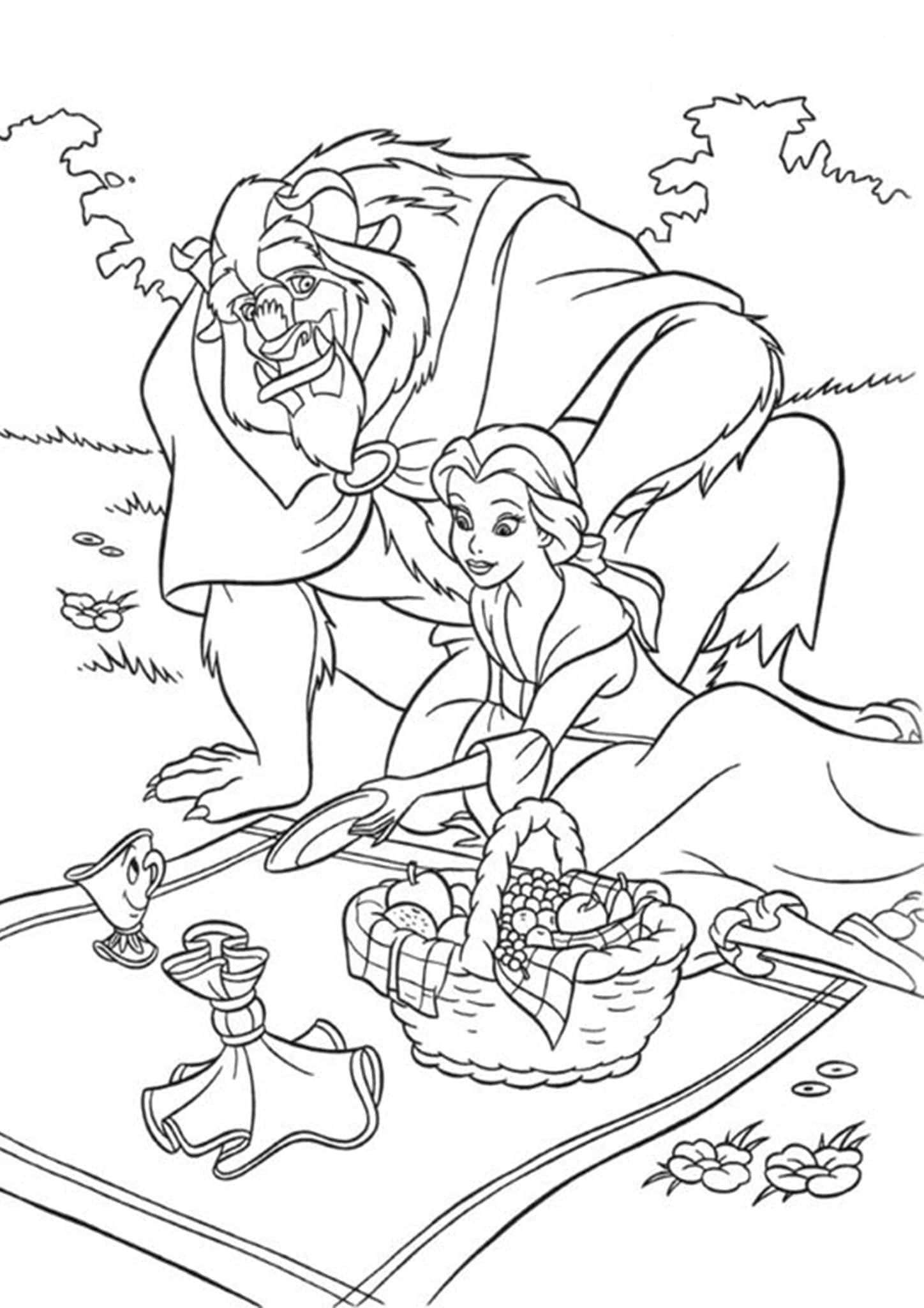 coloring pages beauty and the beast beauty and the beast coloring pages pages coloring beauty beast the and