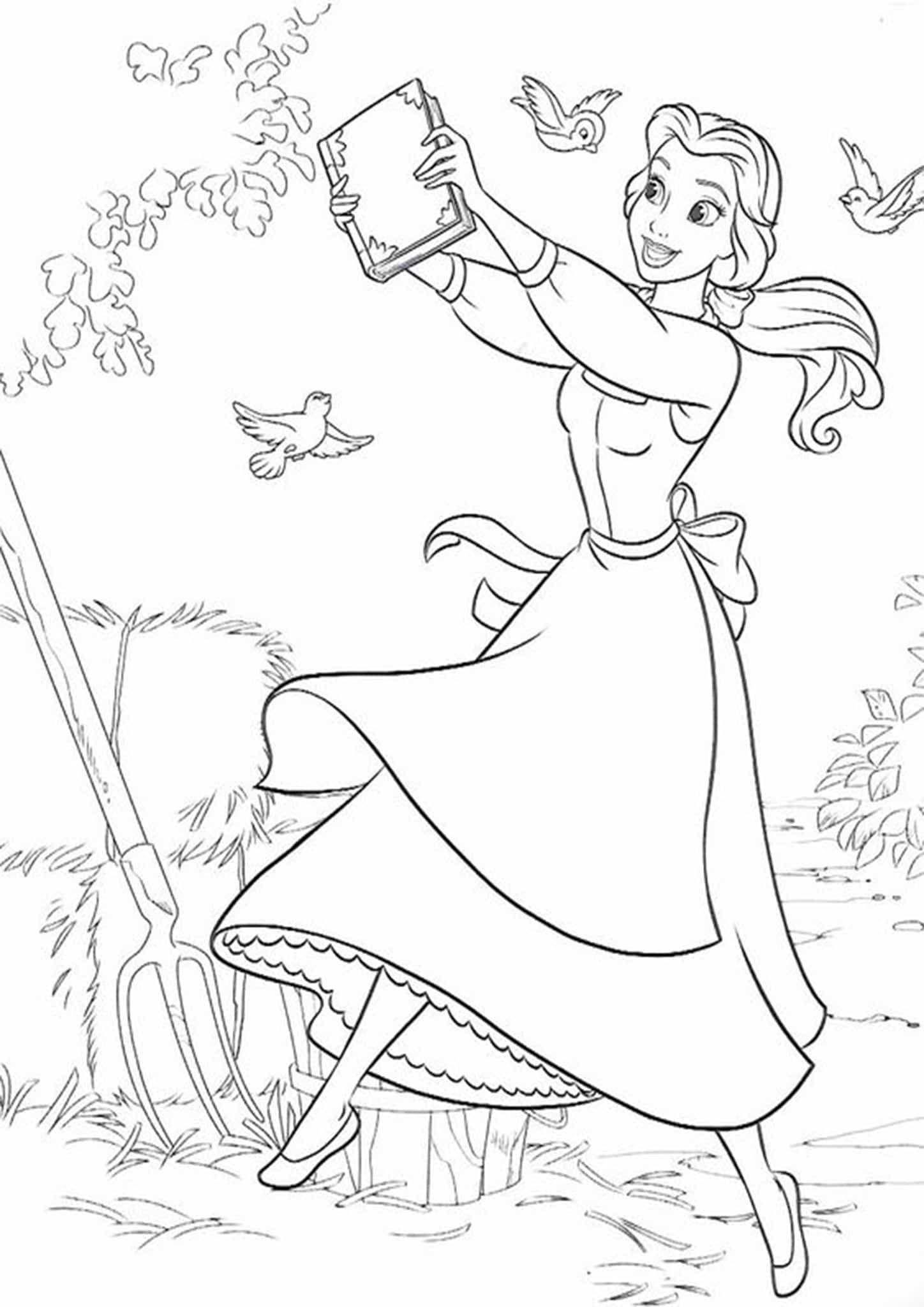 coloring pages beauty and the beast coloring pages beauty and the beast coloring home coloring beast pages and the beauty