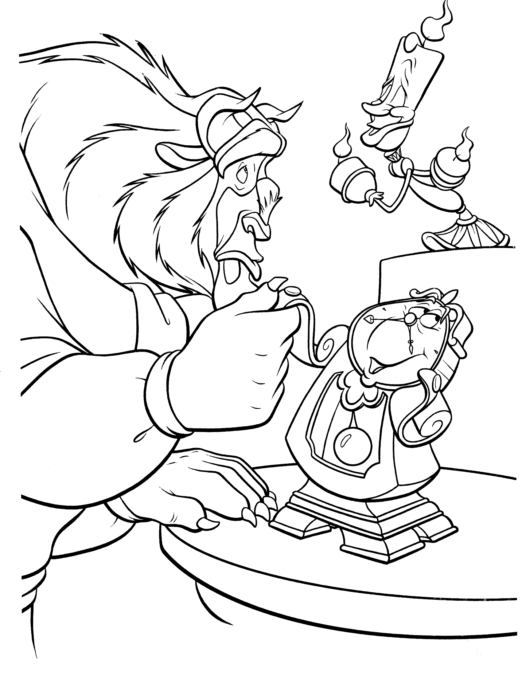 coloring pages beauty and the beast disney movie princesses belle coloring pages coloring beauty beast and pages the